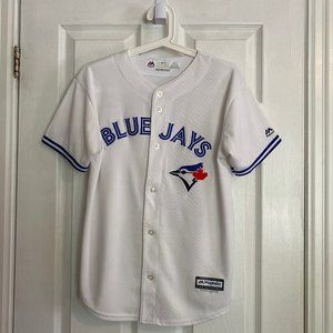 Blue Jays 2016 Team Autographed Youth White Jersey